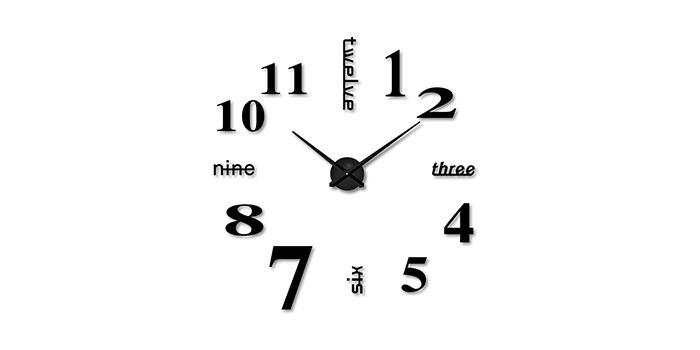 Selección de relojes de pared originales