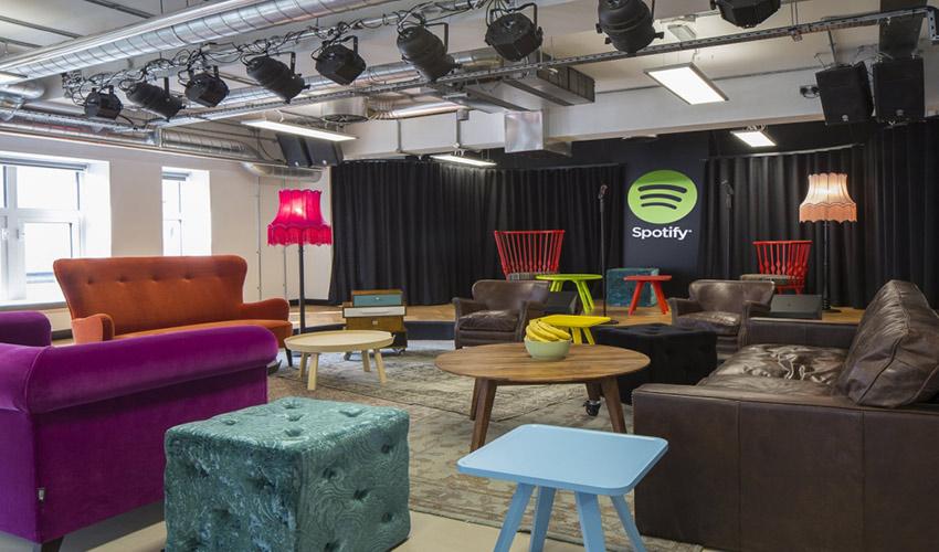 Oficinas de Spotify